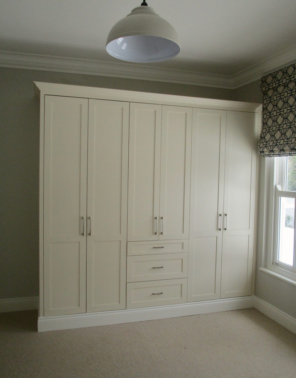 Bedroom cupboards by Woodhouse