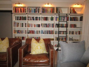 Book shelves by Woodhouse Kitchens and Cupboards