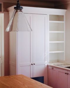 Cupboards and shelves by Woodhouse
